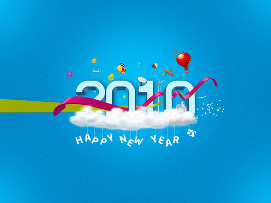 happy new year 2010 wallpapers