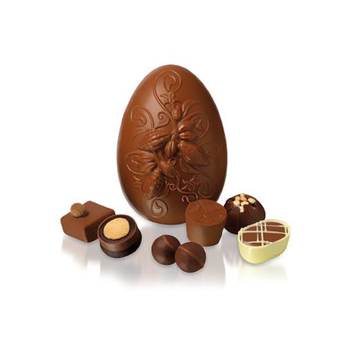 Creamed Caramel Cocoa Pod Easter Egg