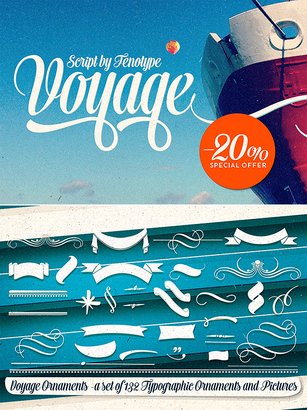 Voyage font family