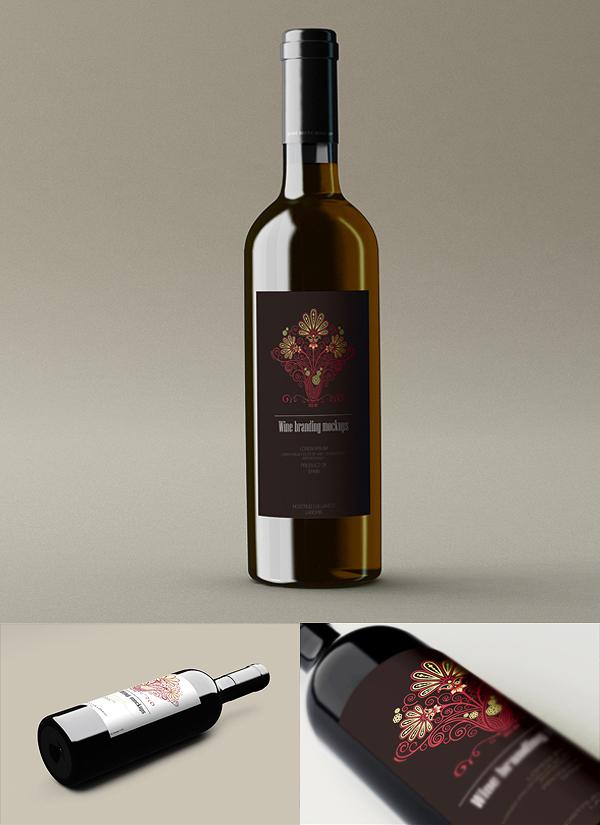 Wine Branding Mockups