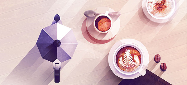 Coffee Illustration by Maite Franchi