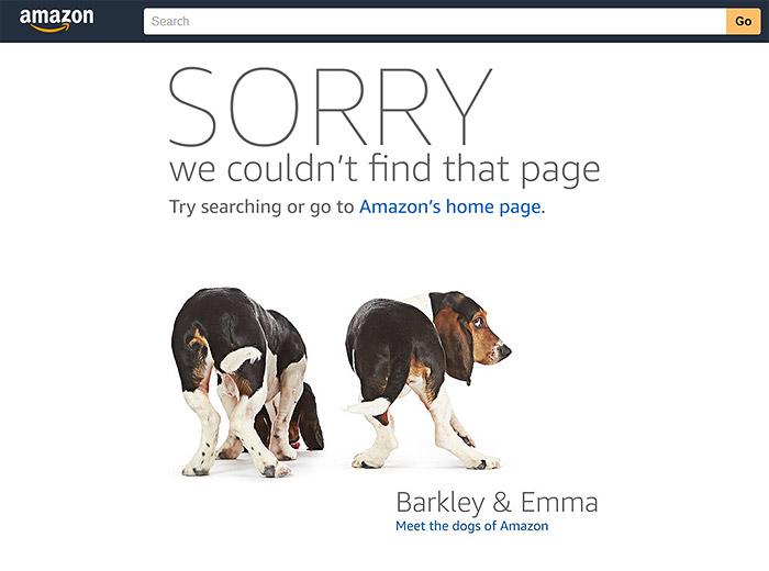 error 404 amazon