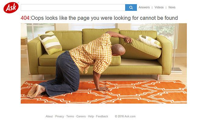 error 404 ask