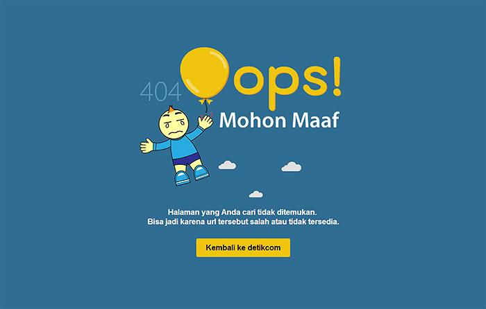 error 404 detik