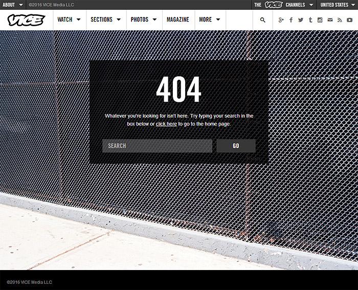 error 404 vice