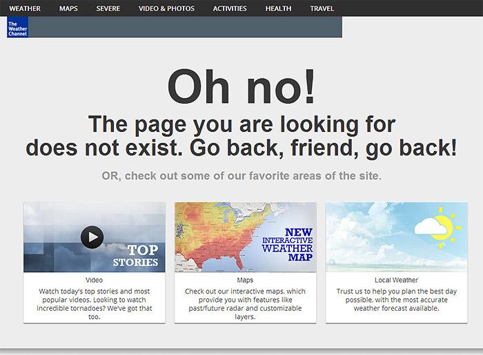 error 404 Weather