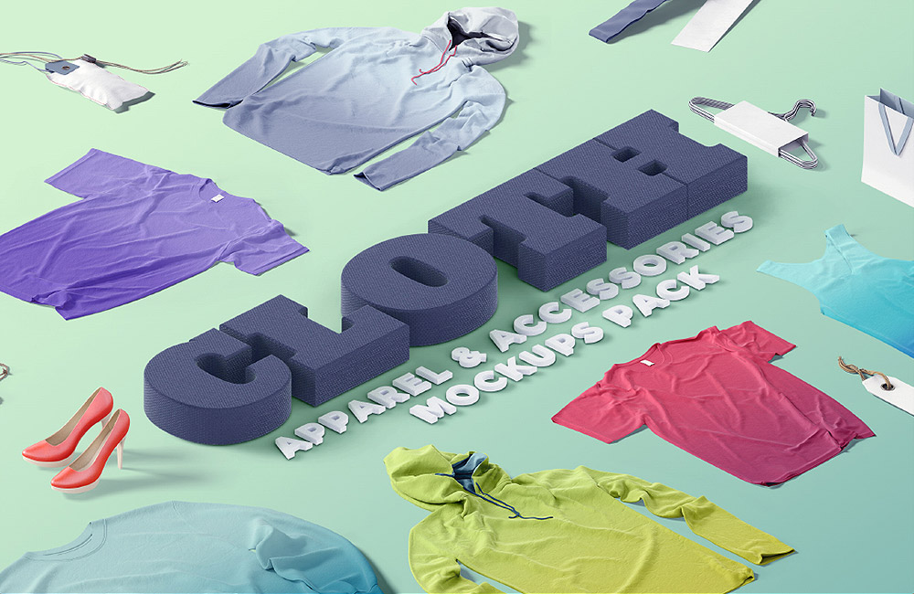 cloth apparel mockup scene creator preview