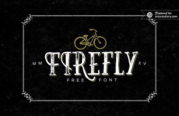Firefly Free Hand Drawn Font preview