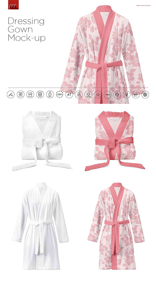 Dressing Gown Mockup