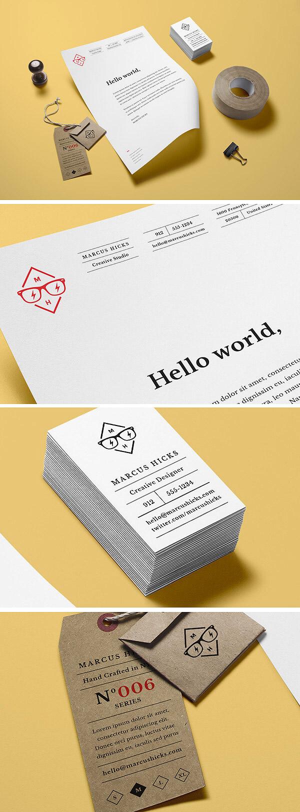 Branding / Identity MockUp Vol.14