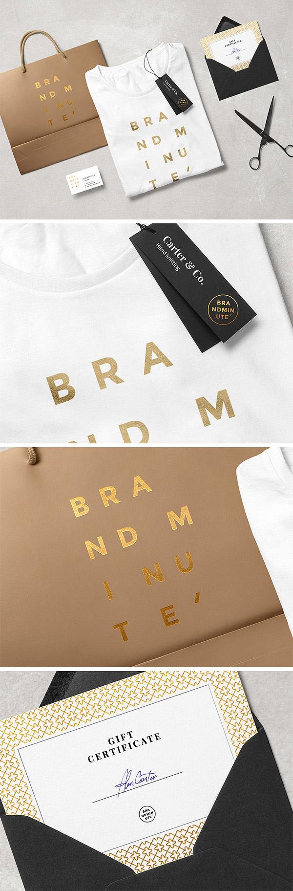 Brandminute – Free MockUp Scene