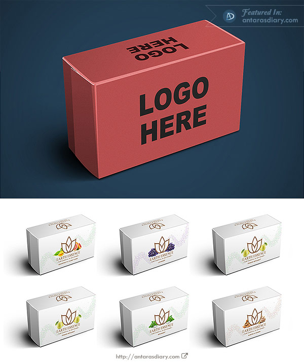 Soap Packaging Box Mockup
