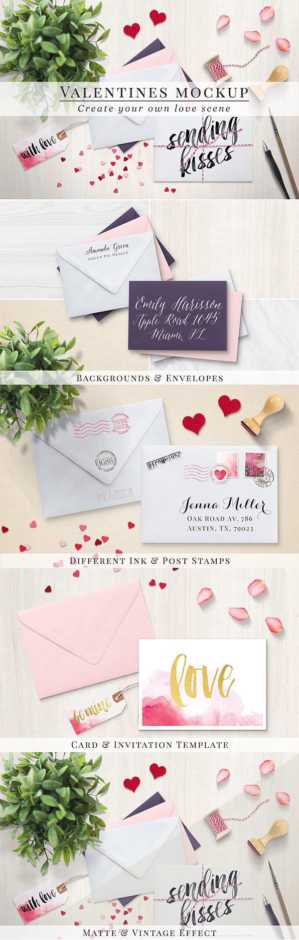 Valentines mockup - envelopes (46)