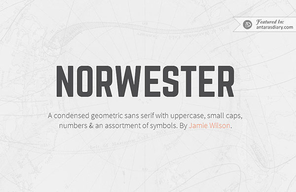 Norwester free font