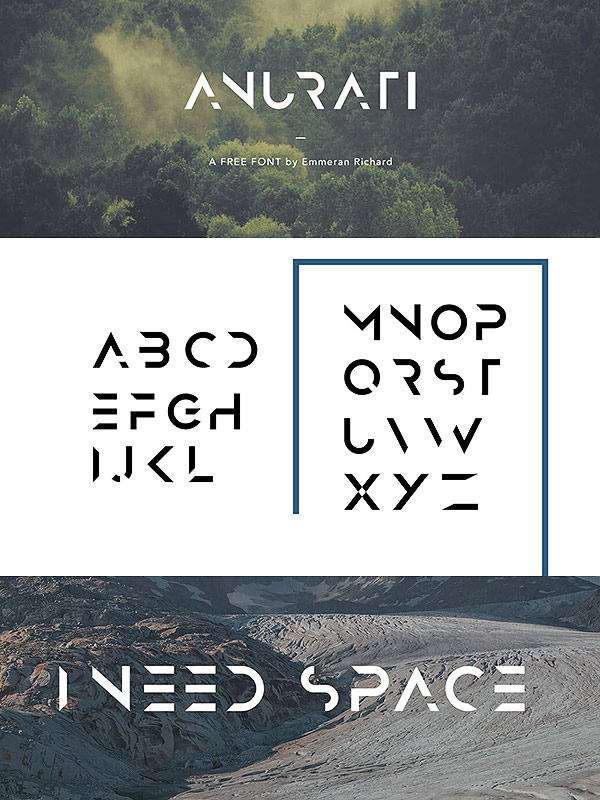 Free Font - Anurati