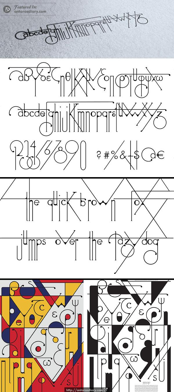 Free Font - Futuracha