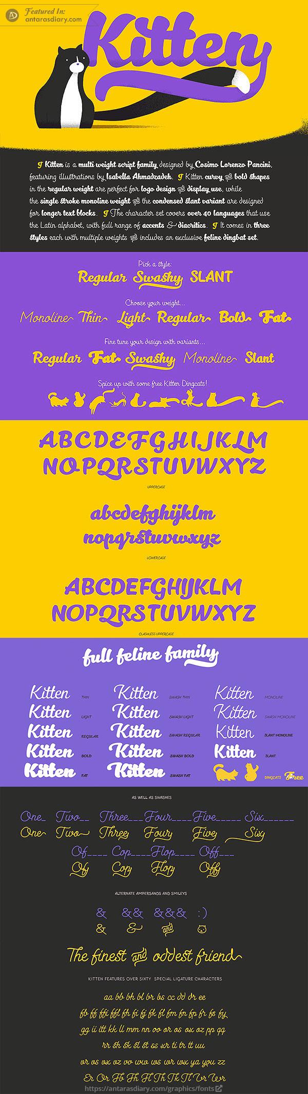 Kitten Free Font