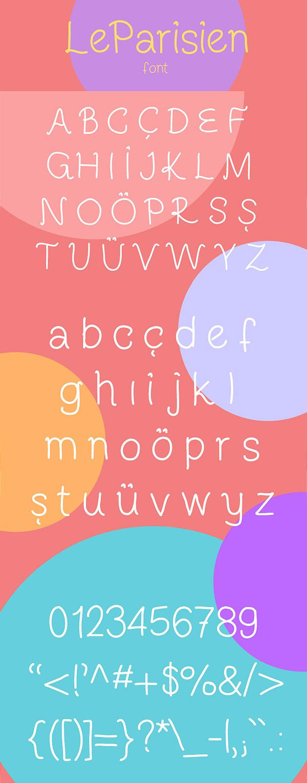 Free Font - LeParisien