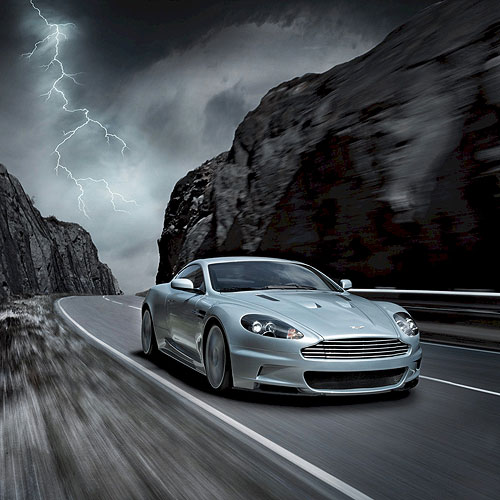 Aston Martin DBS iPad Car Wallpaper