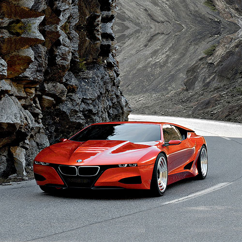 BMW M1 Concept iPad Car Wallpaper
