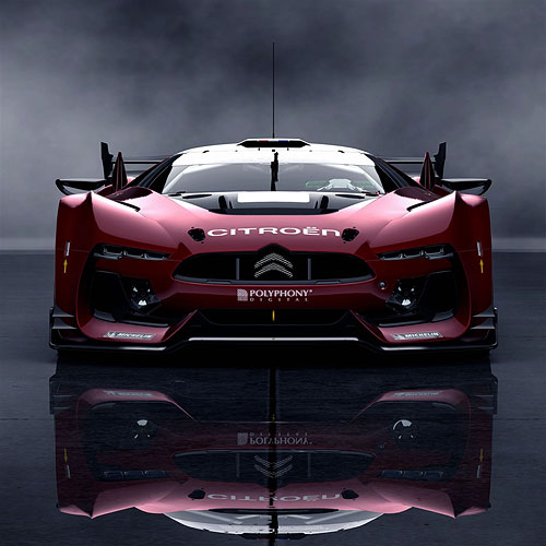 Citroen Gt Race Car iPad Air Wallpaper