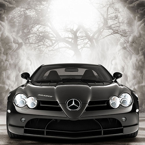 Mercedes Mclaren Brabus Sports Car Wallpaper