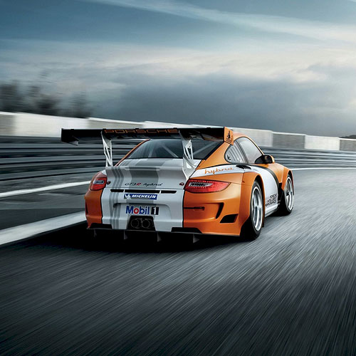 Porsche 911 GT3R iPad Car Wallpaper