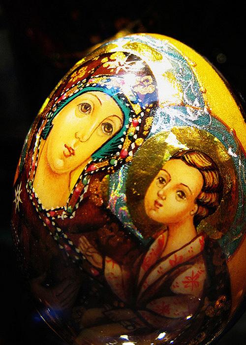 Holy Easter egg