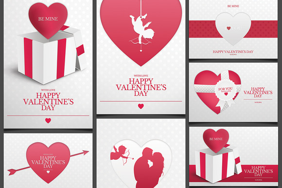 valentine card bundle 3