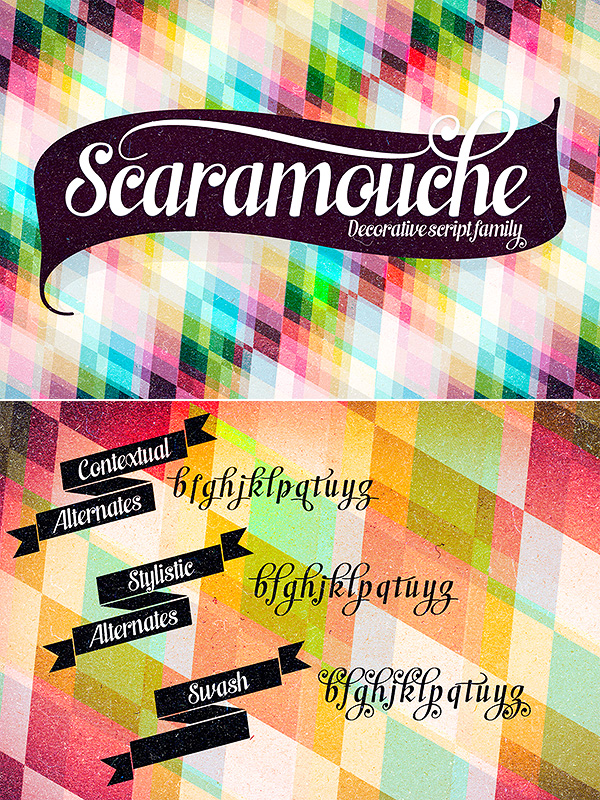 Scaramouche font family