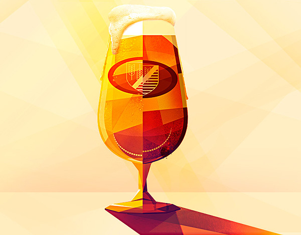Beer Illustration by Maite Franchi