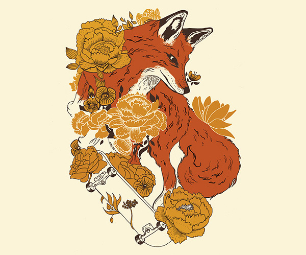 Fox Illustration by Maite Franchi
