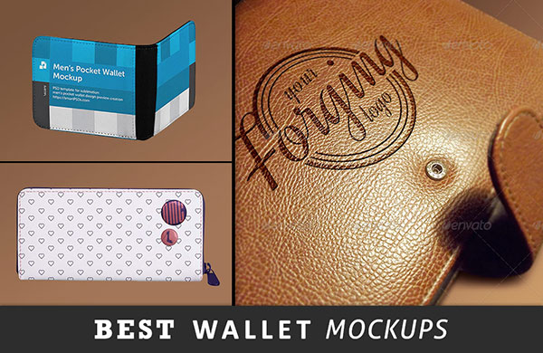 best wallet mockup psd files preview