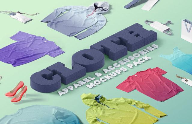 Mockup Scene Creator: Cloth, Apparel, Fashion & Accessories