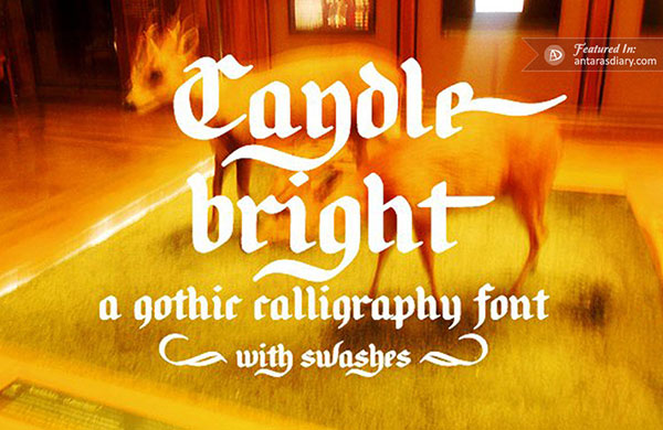 free font Candlebright preview