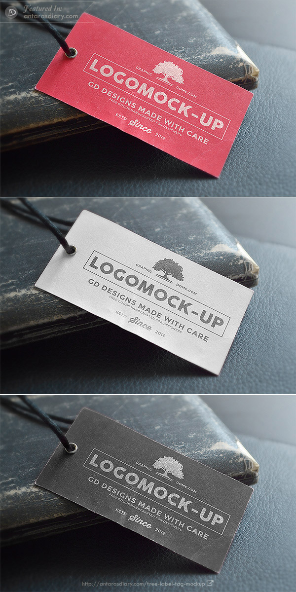 Logo Label Mock-up