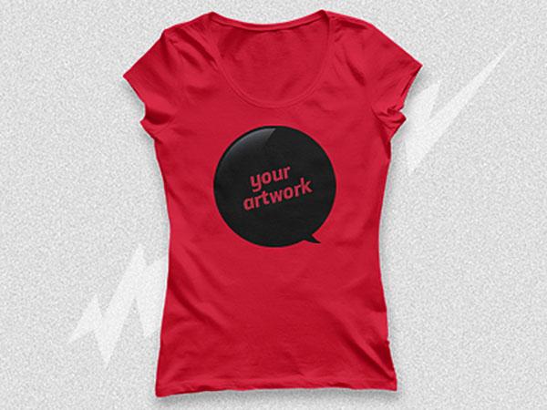 50 Free Woman T-Shirt And Apparel PSD Mockups | Antara\'s Diary