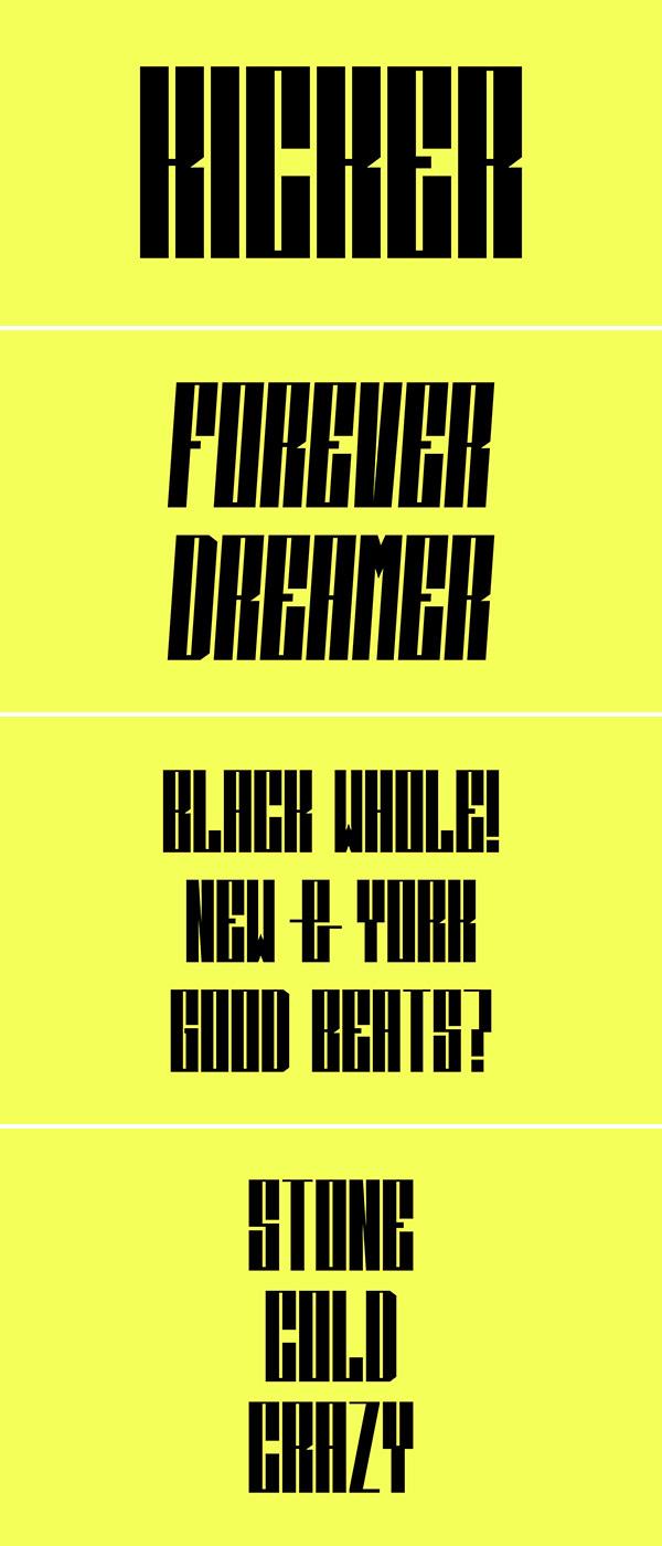 Free Font - Kicker