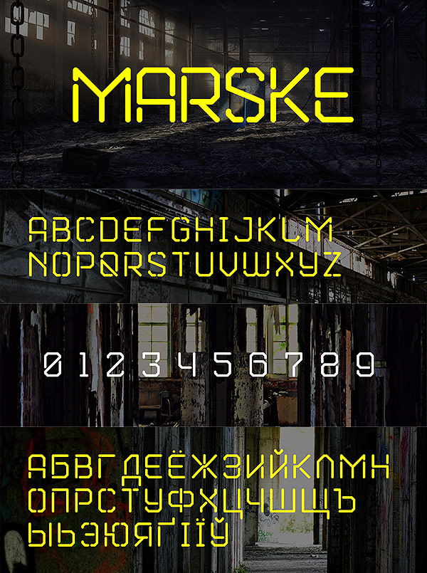 Free Font - Marske