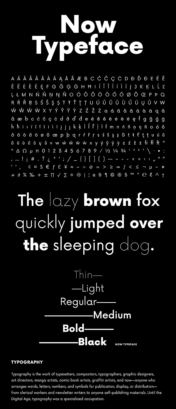 Free Font - Now