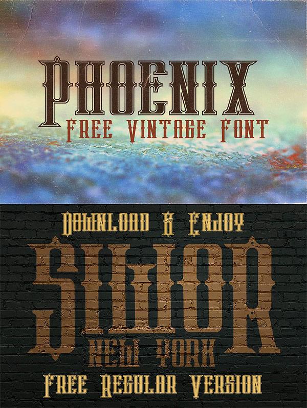 Free Font - Phoenix
