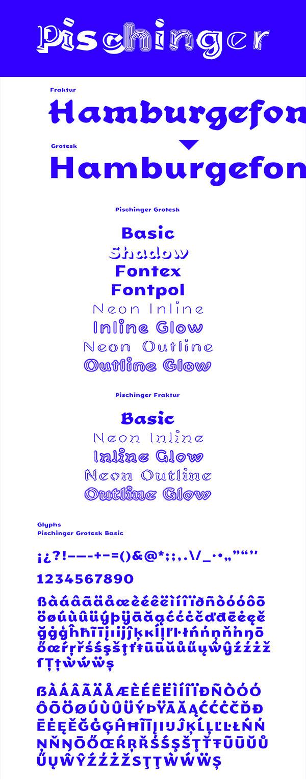 Pischinger Free Font