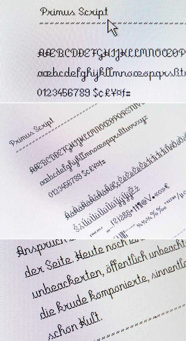 Free Font - Primus Script