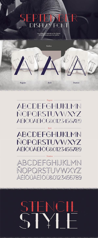 Free Font - September