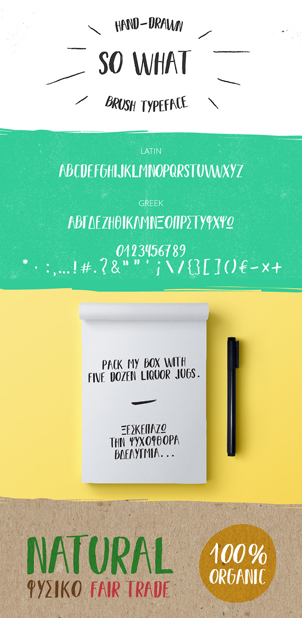 Free Font - SO WHAT
