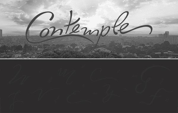 Free Font - Contemple Typeface