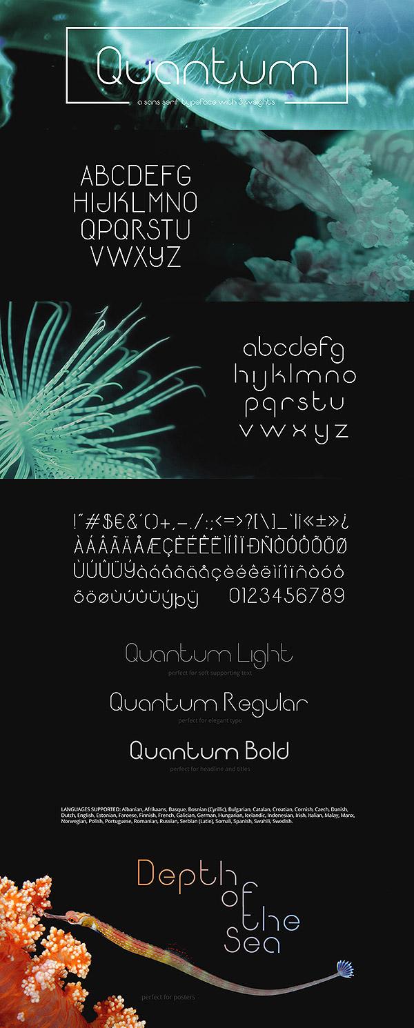 Quantum (Free Font)