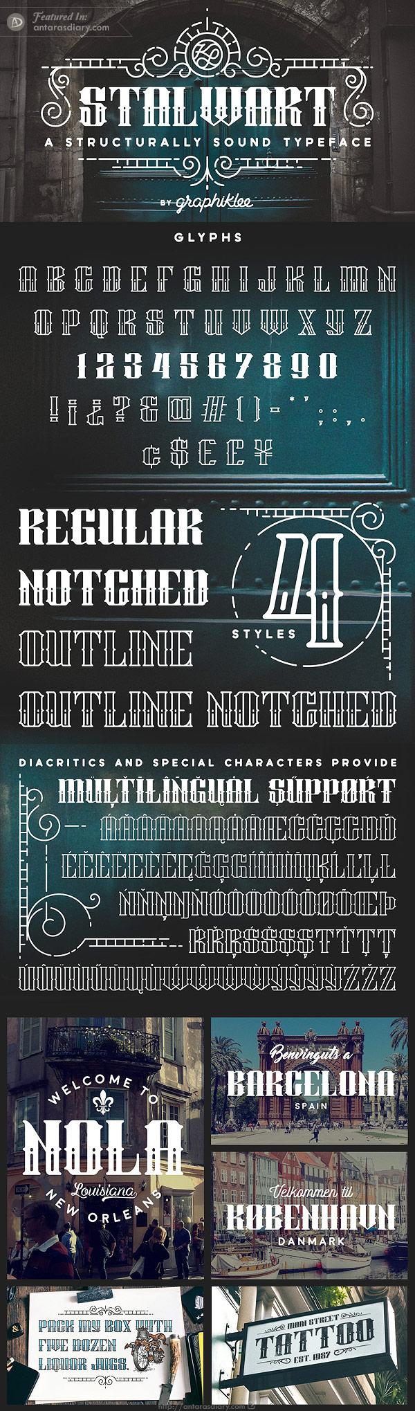Free Font - Stalwart