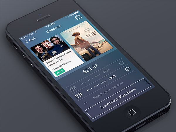 Checkout app UI
